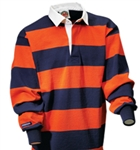 "Barbarian Classic Navy / Orange 4"" Stripe"
