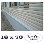 16 x 70 Rapid Wall Complete Mobile Home Insulated Skirting Package