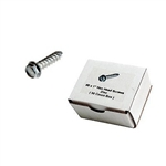 "1/4"" Hex Screws (zinc) 500 ct"