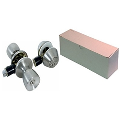Stainless Combination Lock & Dead Bolt