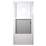 Elixir Series 6000 Housetype Combo Door with 10 x 10 Diamond Window