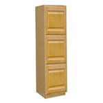 Kitchen Wall Pantry Cabinet Oak 18x84x24