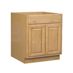 Bathroom Vanity Cabinet Oak 30x34.5x18