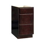 Bathroom Drawer Base Cabinet Espresso 12x34.5x24