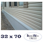 32 x 70 Rapid Wall Complete Mobile Home Insulated Skirting Package