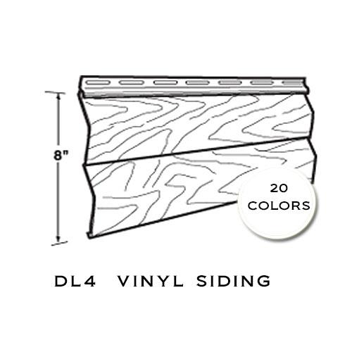 Harbour Crest Vinyl Siding DL4