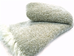 Lambswool and Mohair Snow Blanket