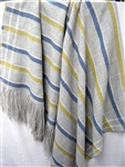 Wool Throw Blanket, Our French Collection is Soft and Luxurious, No Synthetics or Chemical Dyes