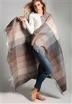 Alpaca Neutral Multi-Color Patchwork Throw