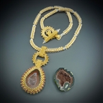 One-of-a-Kind Geode Necklace Kit, baby geode #20