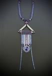Deco Daze Necklace Kit, tanzanite & silver