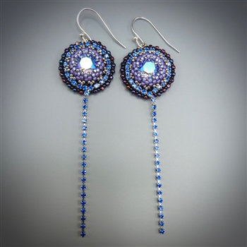 Cascade Earrings Kit, tanzanite