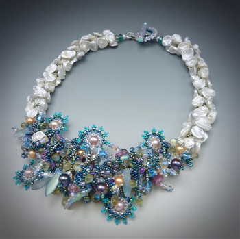 Keshi Pearl Necklace Kit, Original Laura McCabe Art