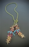 Pokeweed Lariat Necklace Kit, limited edition summer bright