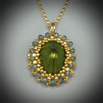 Scarab Beetle Pendant Necklace (#4)