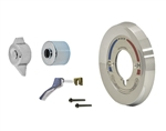 Trim Kit for Symmons BP Series Tub & Shower Valves with Integral Diverter/Volume Control, Chrome