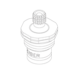 Gerber 98-688 Hot Water Compression Cartridge