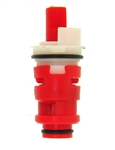 Milwaukee/Carefree Washerless Plastic Stem Cartridge, Hot Water - 11-7346H