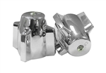 Central Brass Pair Handles for Tub and Shower Valves - 99-1163, Chrome