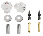 Milwaukee / Carefree Two Handle Tub and Shower Rebuild Kit