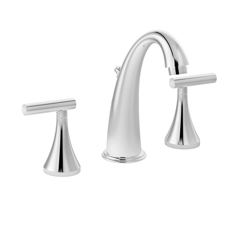 Symmons SLW-4612-1.5 - Lucetta Widespread Lavatory Faucet