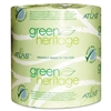 Green Heritage Toilet Tissue, 4 1/10 x 3 1/10 Sheets, 2Ply, 500/Roll, 96 Roll/CT