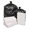 Waste Can Liners, 2mil, 38w x 38d x 58h, Black, 100/Carton