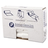 High-Density Can Liner, 30 x 36, 30gal, 13mic, Clear, 25/Roll, 20 Rolls/Carton