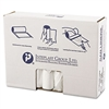 High-Density Can Liner, 33 x 39, 33gal, 13mic, Clear, 25/Roll, 20 Rolls/Carton