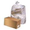 Industrial Drum Liners, 38 x 65, 60gal, 2.5mil, Clear, 1 Roll of 50/Carton