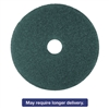 "Cleaner Floor Pad 5300, 20"", Blue, 5/Carton"