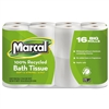 100% Recycled Two-Ply Toilet Tissue, White, 96 Rolls/Carton