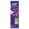 "WetJet Mop Starter Kit, 46"" Handle, Silver/Purple, 2/Carton"