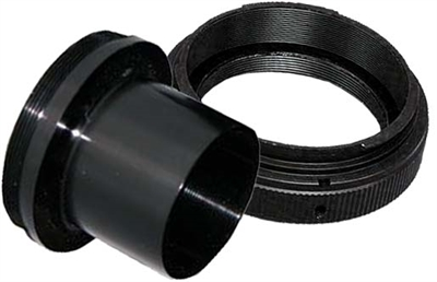 "Canon Camera 1.25"" T-adapter and T-Ring adaptor kit"
