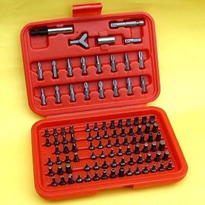 100 SCREWDRIVER Bits Set with TAMPER PROOF/SECURITY bits