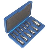 13 pc METRIC ALLEN HEX BIT SOCKET SET with CASE
