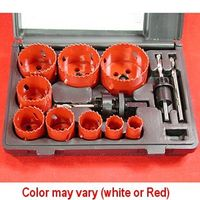13 pc COBALT BI-METAL HOLE SAW KIT 3/4 -> 2-1/2