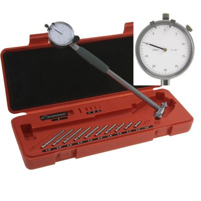 "2""-6"" PRECISION CYLINDER HOLE DIAL BORE GAGE SET"