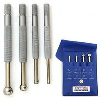 4 pc FULL-BALL SMALL BORE HOLE Precision GAGE GAUGE SET