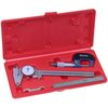 MACHINIST INSPECTION TOOL SET DIAL CALIPER / MICROMETER / STAINLESS STEEL RULE