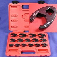 15 pc CrMo CROWFOOT WRENCH SET METRIC