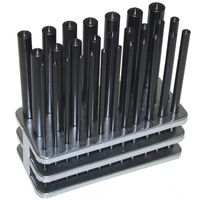 28 pc TRANSFER PUNCH SET