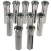 11 pc R8 MILL ROUND COLLET CHUCK CNC SET