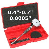 "0.4""-0.7"" PRECISION CYLINDER HOLE DIAL BORE GAGE SET"
