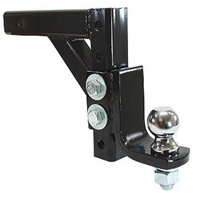 "10"" ADJUSTABLE TRAILER DROP BALL MOUNT HITCH TRUCK TOW"