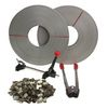STRAPPING / BANDING TOOL KIT + Seals & Strap Roll