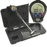 "2""-6"" ELECTRONIC DIGITAL CYLINDER HOLE BORE GAUGE GAGE .0002"""
