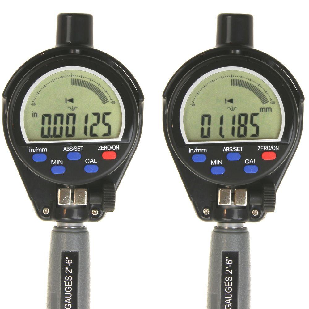 Electronic Digital Gauge : Quot electronic digital cylinder hole bore gauge