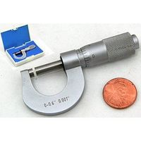 NEW MINI SMALL TINY POCKET MIC OUTSIDE MICROMETER 0.6""
