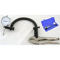 DIAL INDICATOR FLEX ARM GRIP CLAMP VISE PLIER BASE